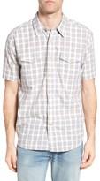 True Grit Men's Soho Plaid Cotton Sport Shirt