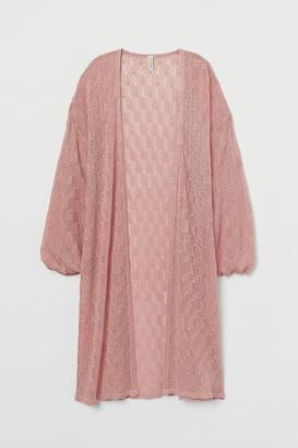 H&M Lace-knit Cardigan