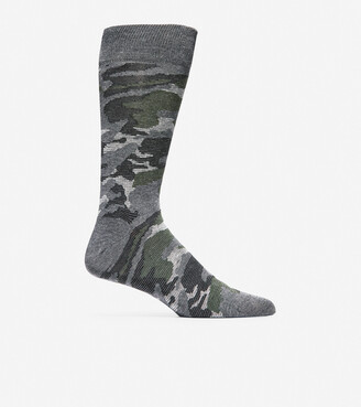 Cole Haan Modern Camo Crew Socks