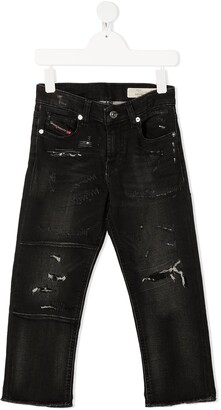 Diesel Distressed Skinny-Fit Jeans