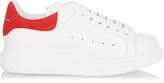 Alexander McQueen Low-top platform leather trainers