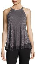 Betsey Johnson Animal Print Tank Top
