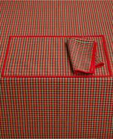"""Lenox Holiday Nouveau Joyful 60"""" x 84"""" Tablecloth, Created for Macy's"""