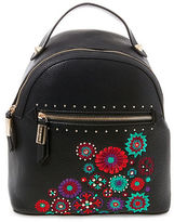 Steve Madden Stud Embroidered Backpack