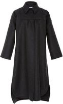 RED Valentino Long Sleeve Wool Coat