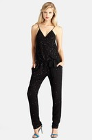 Donna Morgan D2914M Sequined Blouson Jumpsuit