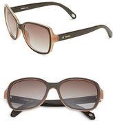 Fossil 55mm Square Sunglasses