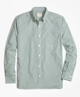 Brooks Brothers Dual-Tone Gingham Sport Shirt