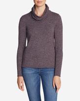 Eddie Bauer Women's Sweatshirt Sweater - Cowl-Neck
