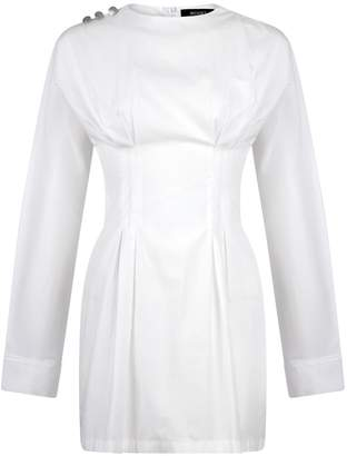 Musqet Hilaria White Pleated Dress