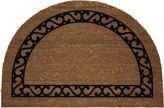 JCPenney Bacova Guild Koko Flocked Iron Gate Coir Wedge Doormat