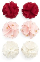 Capelli of New York 6-Pack Flower Hair Clips
