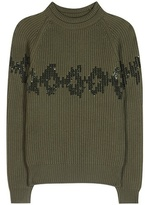 Nina Ricci Sequinned wool sweater