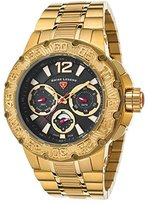 Swiss Legend Men's 'Ultrasonic' Quartz Stainless Steel Casual Watch, Color:Gold-Toned (Model: 14097SM-YG-11)