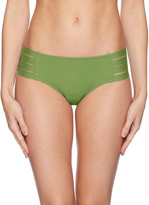 Seafolly Women's Active Multi Strap Hipster Bikini Bottom Swimsuit