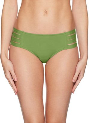 Seafolly Women's Multi Strap Hipster Bikini Bottom Swimsuit