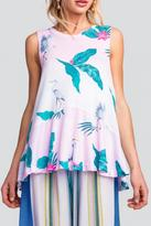 Wildfox Couture Tropical Tunic Tank