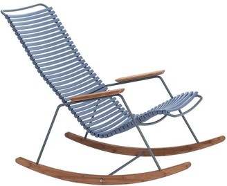 Ecc Lighting & Furniture Click Outdoor Rocking Chair Pigeon Blue