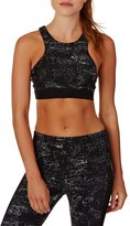 Seafolly Modern Geometry Black Out High Neck Tank