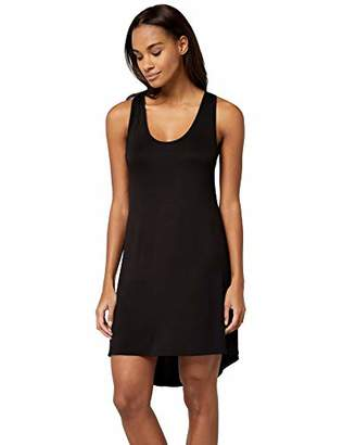Iris & Lilly AMZ18Q1G12 Nightdresses for Women, (Black Beauty), (size: S)