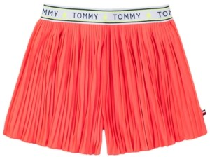 Tommy Hilfiger Toddler Girls Pleated Shorts