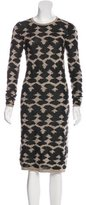 Derek Lam Cashmere & Silk-Blend Dress