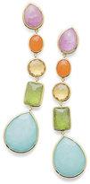 Ippolita 18K Rock Candy®; 5-Stone Linear Earrings in Rainbow