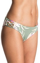 Roxy Women's Castaway Floral 70's Bikini Bottom