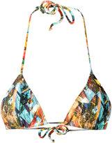 Lygia & Nanny - triangle bikini top - women - Spandex/Elastane/Polyimide - XPP
