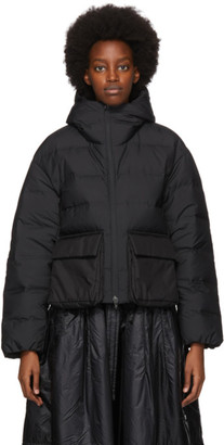 Y-3 Black Down Classic Puffer Jacket