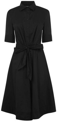 Lauren by Ralph Lauren Finbar Fit & Flare Shirt Dress
