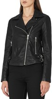 Reiss Ally Biker Jacket