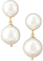 Majorica White Pearl Drop Earrings