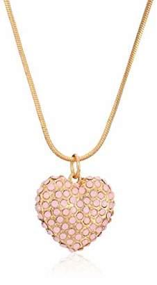 GUESS Heart Feelings Women's Snake Chain Pendant Necklace