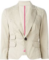 DSQUARED2 single button blazer - women - Cotton/Polyamide/Polyester - 42