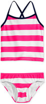 Kanu Surf 2-Pc. Layla Striped Tankini Swimsuit, Toddler & Little Girls (2T-6X)