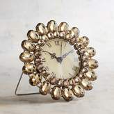 Pier 1 Imports Mini Clock with Amber Gems