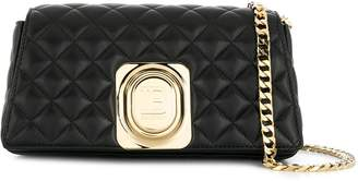 Balmain logo plaque cross body bag