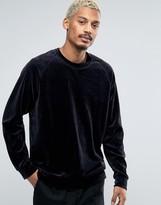 Weekday Velour Sweater
