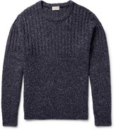 Club Monaco Ribbed Wool-Blend Sweater