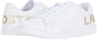 Lacoste Carnaby Evo 120 6 US (White/White) Women's Shoes