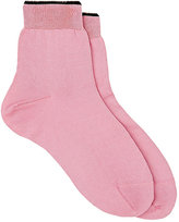 Maria La Rosa Women's Silk-Blend Ankle Socks