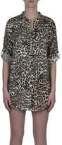 Kachel Leopard Shirt Dress