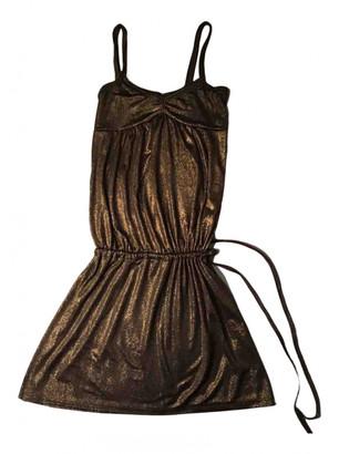 Maje Spring Summer 2019 Brown Polyester Dresses