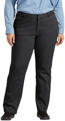 Dickies Womens Mid Rise Slim Pant-Plus