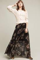 Ranna Gill Vined Garden Maxi Skirt
