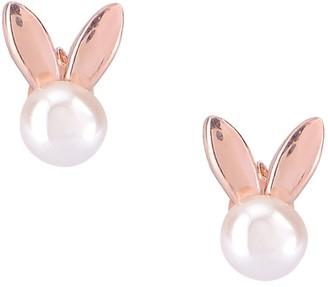 GABIRIELLE JEWELRY Mother-Of-Pearl Bunny Stud Earrings