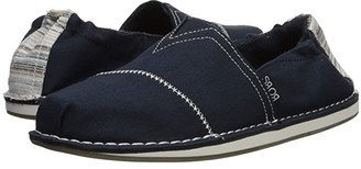 BOBS from SKECHERS Bobs Chill - Waterfront (Navy) Women's Slip on Shoes