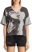 AllSaints Reality Ada V-Neck Tee