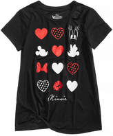 Disney Disney's Minnie Mouse Hearts & Dots T-Shirt, Big Girls